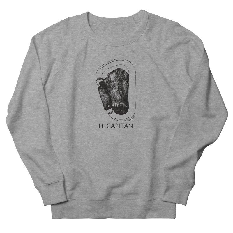 Climb El Capitan Women's French Terry Sweatshirt by Mike Petzold's Artist Shop