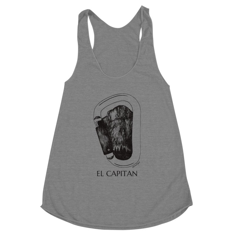 Climb El Capitan Women's Tank by Mike Petzold's Artist Shop