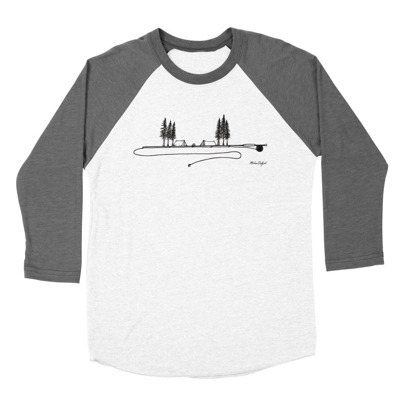 Camping on the Fly Women's Longsleeve T-Shirt by Mike Petzold's Artist Shop