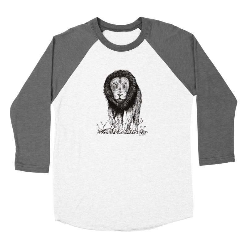 Lion Women's Longsleeve T-Shirt by Mike Petzold's Artist Shop