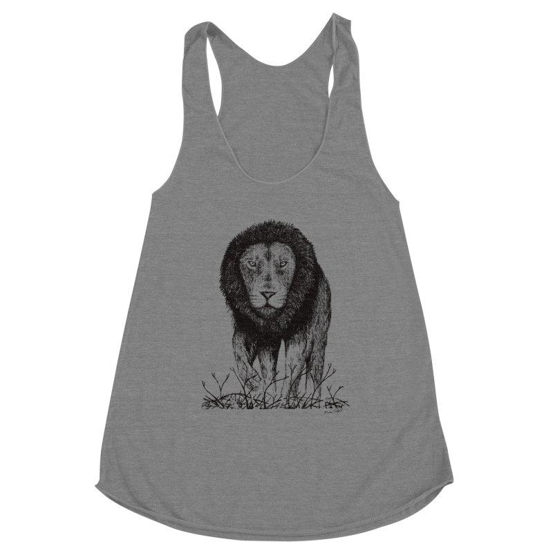 Lion Women's Tank by Mike Petzold's Artist Shop
