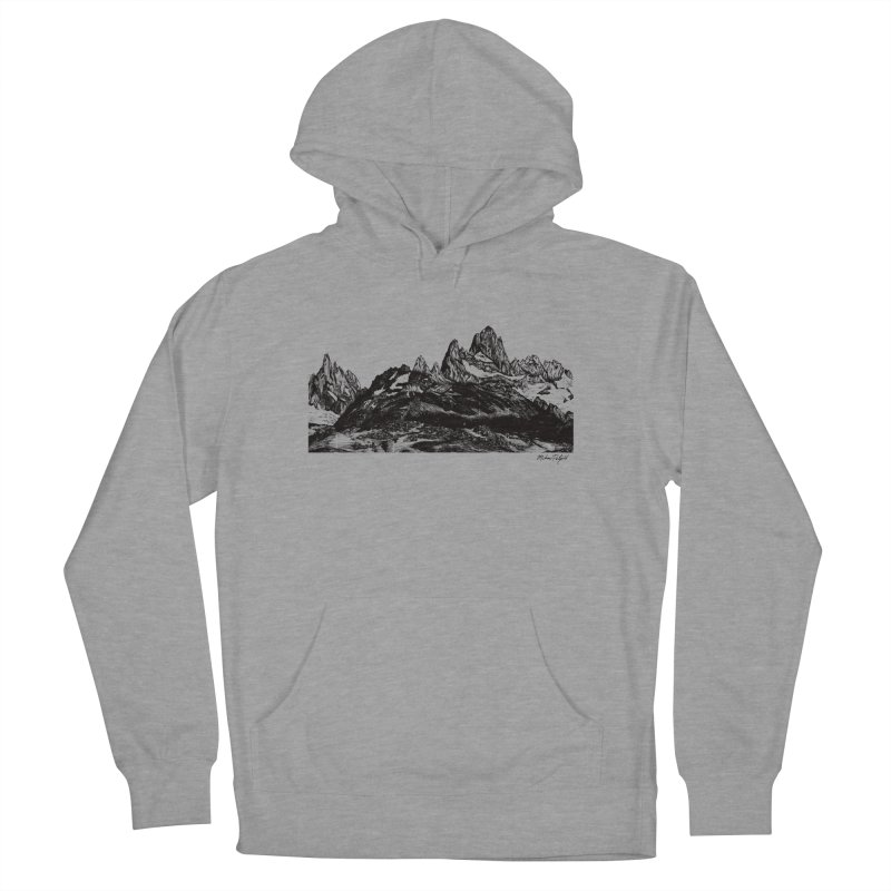 Fitz Roy Women's Pullover Hoody by Mike Petzold's Artist Shop