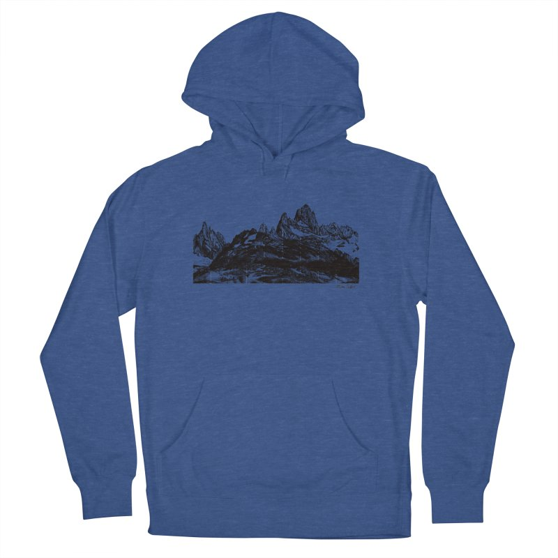 Fitz Roy Men's Pullover Hoody by Mike Petzold's Artist Shop