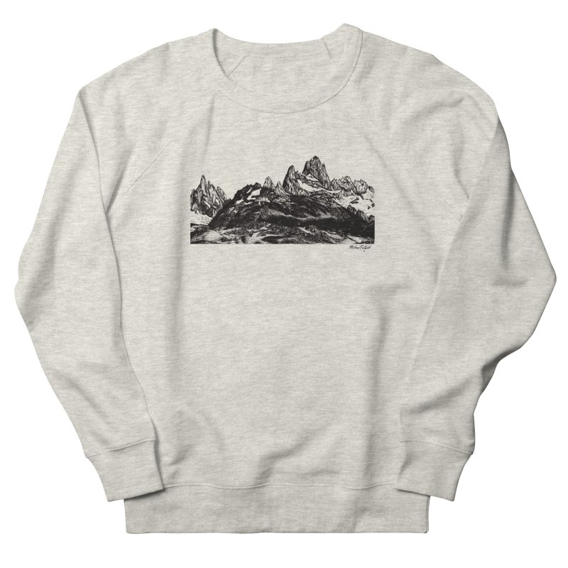 Fitz Roy Men's Sweatshirt by Mike Petzold's Artist Shop