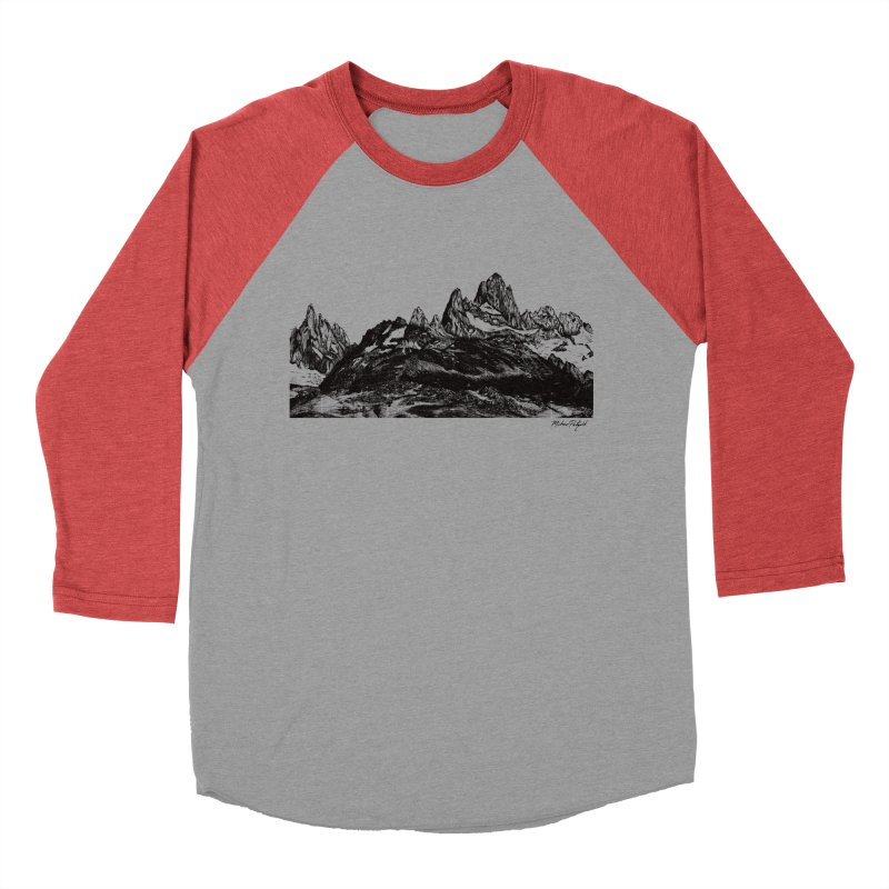 Fitz Roy Men's Longsleeve T-Shirt by Mike Petzold's Artist Shop