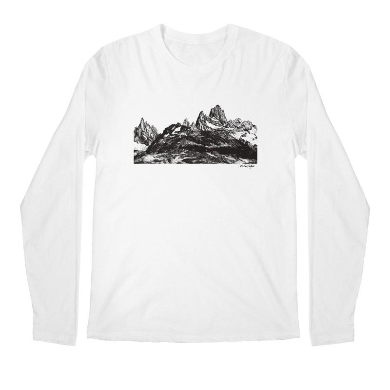 Fitz Roy Men's Regular Longsleeve T-Shirt by MikePetzold's Artist Shop