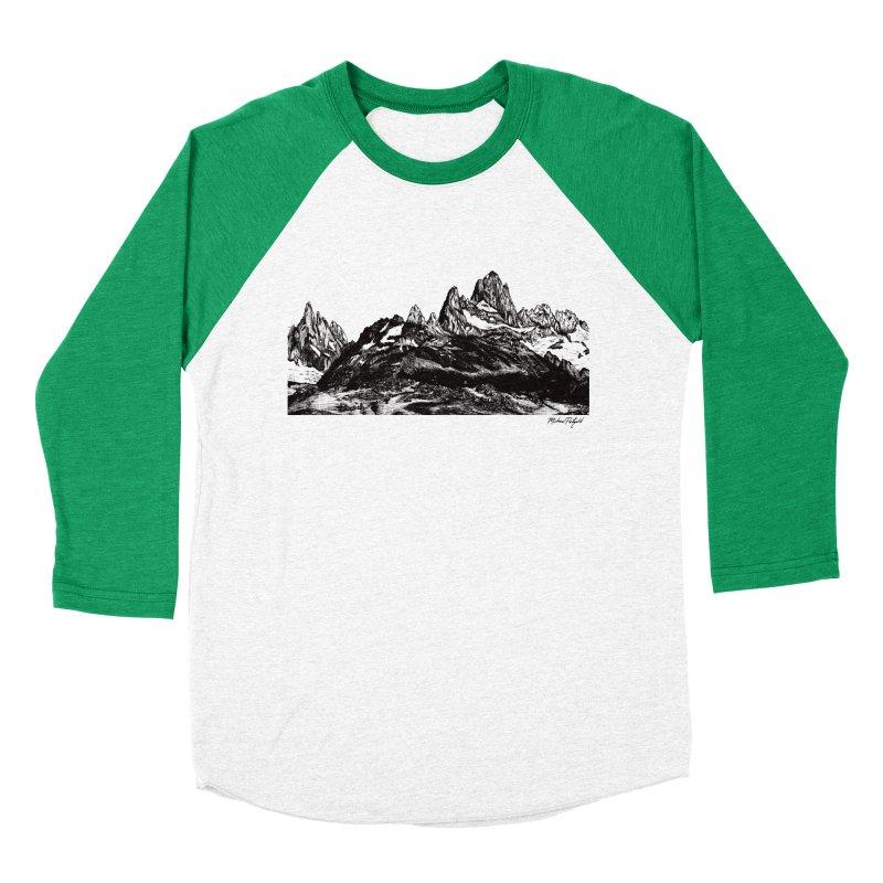 Fitz Roy Women's Baseball Triblend Longsleeve T-Shirt by Mike Petzold's Artist Shop