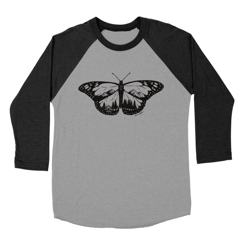 Mountain Monarch Men's Baseball Triblend Longsleeve T-Shirt by MikePetzold's Artist Shop