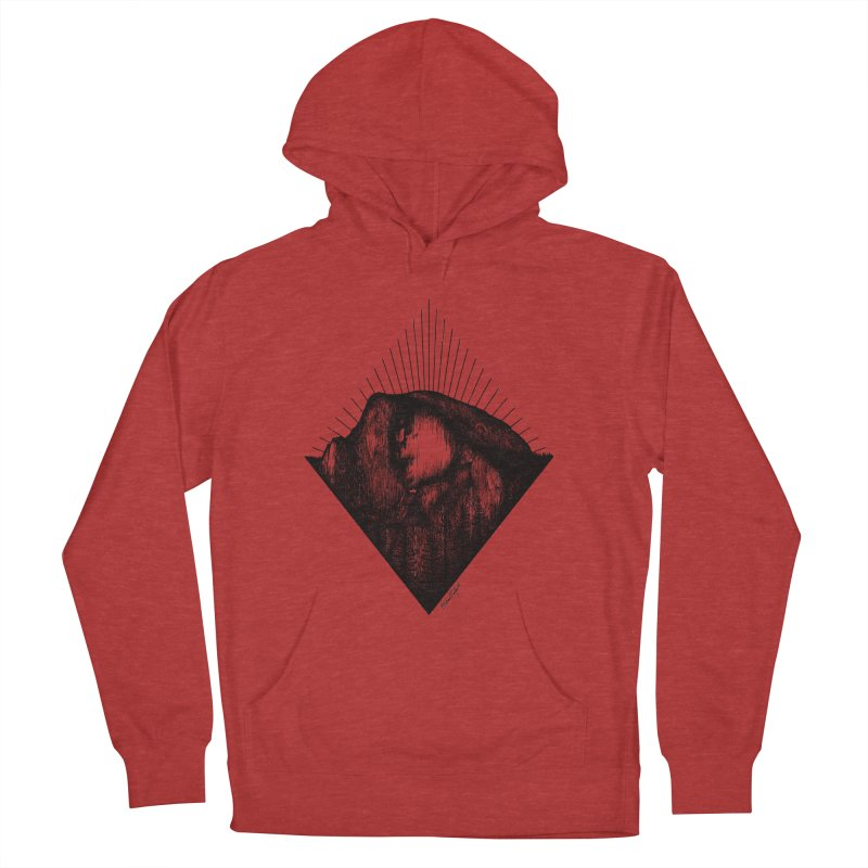 Half Dome Men's French Terry Pullover Hoody by Mike Petzold's Artist Shop