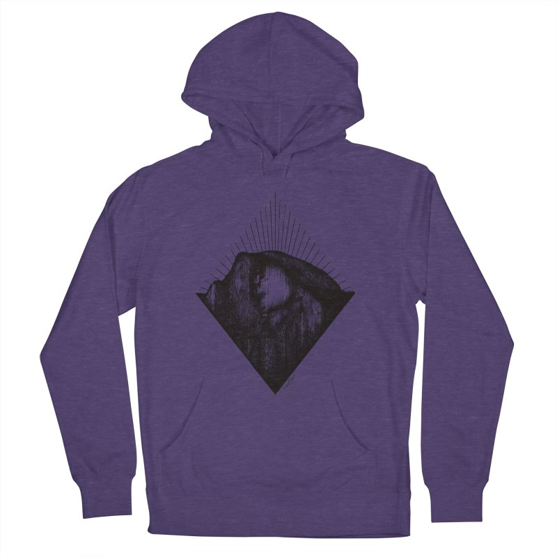 Half Dome Women's French Terry Pullover Hoody by MikePetzold's Artist Shop