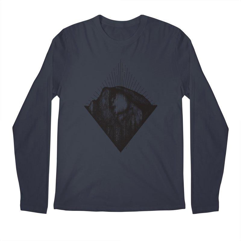 Half Dome Men's Regular Longsleeve T-Shirt by MikePetzold's Artist Shop
