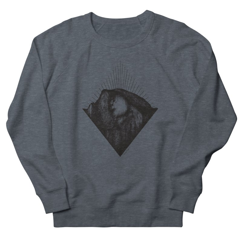 Half Dome Women's French Terry Sweatshirt by Mike Petzold's Artist Shop