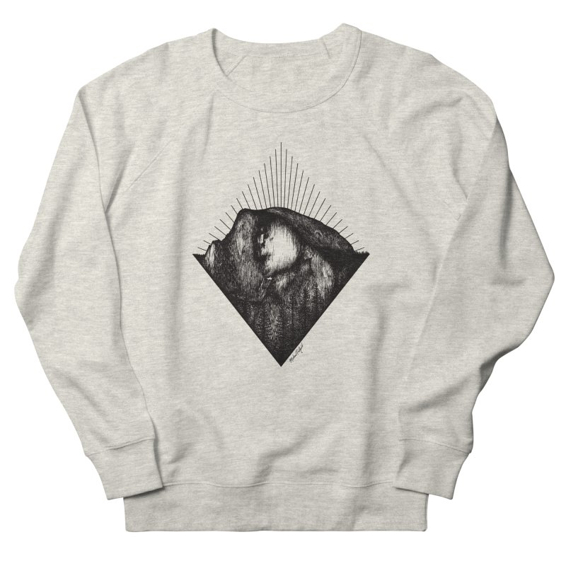 Half Dome Women's French Terry Sweatshirt by MikePetzold's Artist Shop