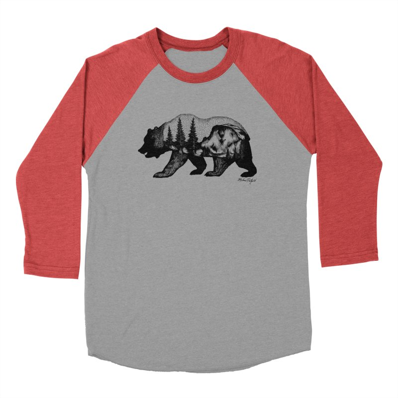 Bear of Yosemite Men's Longsleeve T-Shirt by Mike Petzold's Artist Shop