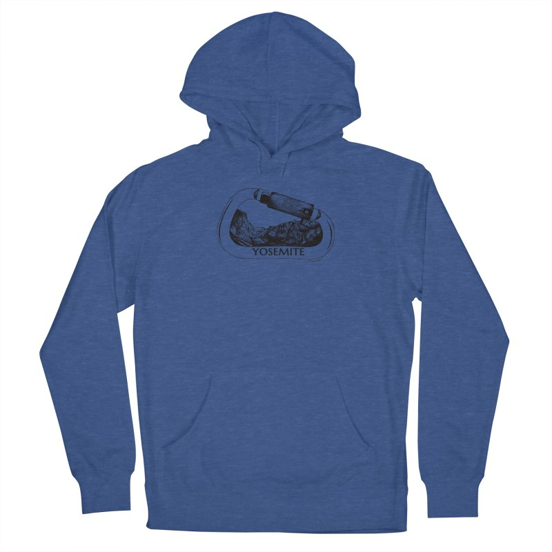 Climb Yosemite Men's Pullover Hoody by Mike Petzold's Artist Shop