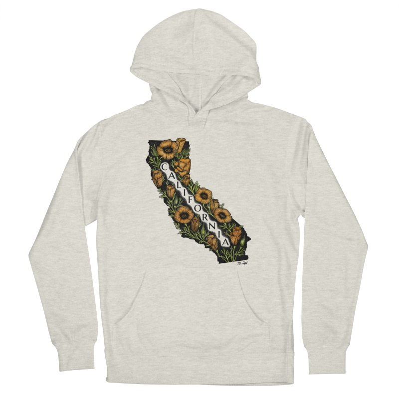 CA Poppy Men's Pullover Hoody by Mike Petzold's Artist Shop