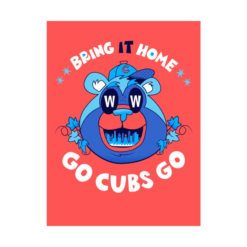 GO CUBS GO  Home Framed Fine Art Print by Mike Dornseif's Artist Shop