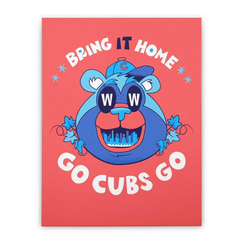 GO CUBS GO    by Mike Dornseif's Artist Shop