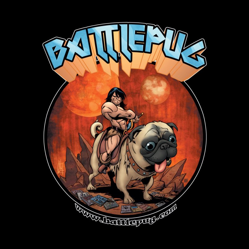Battlepug OG tee Men's T-Shirt by THE BATTLEPUG STORE!