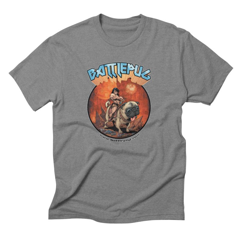 Battlepug OG tee Men's Triblend T-Shirt by THE BATTLEPUG STORE!