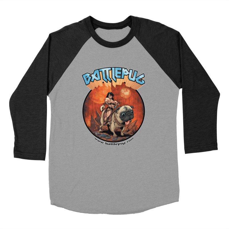 Battlepug OG tee Men's Baseball Triblend Longsleeve T-Shirt by THE BATTLEPUG STORE!