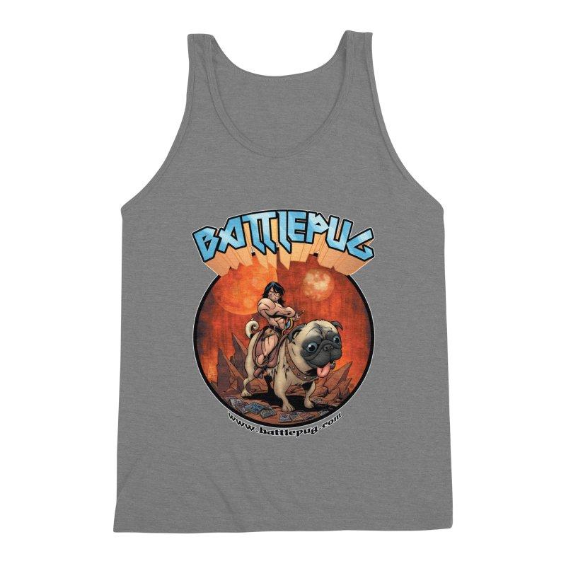 Battlepug OG tee Men's Triblend Tank by THE BATTLEPUG STORE!