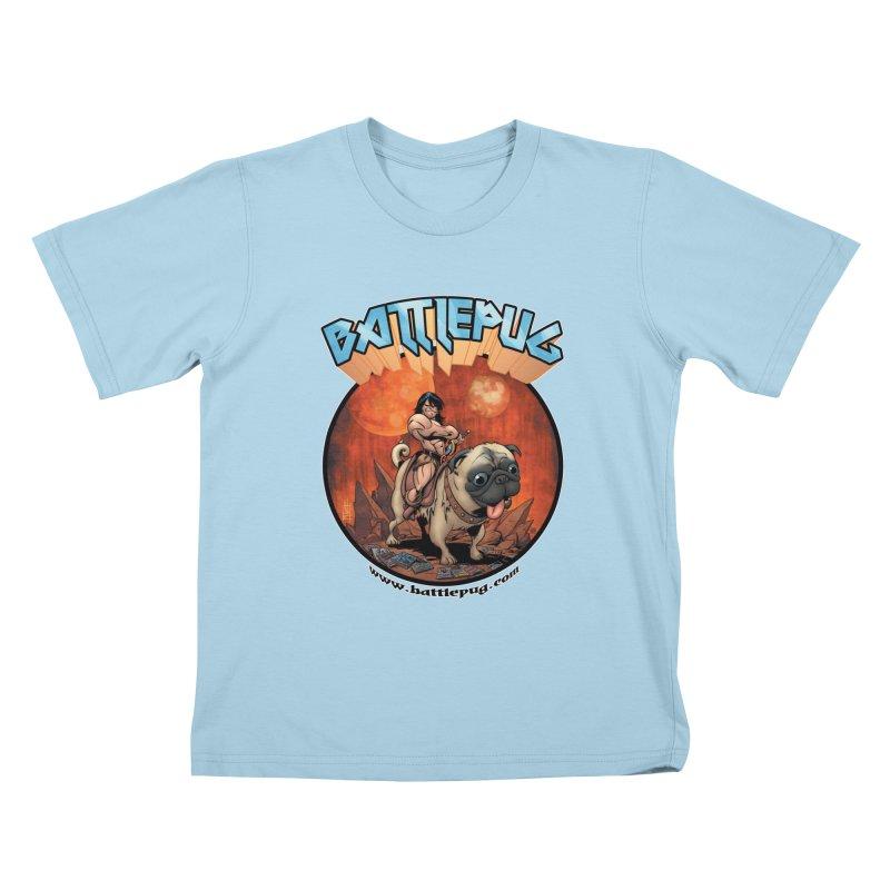 Battlepug OG tee Kids T-Shirt by THE BATTLEPUG STORE!