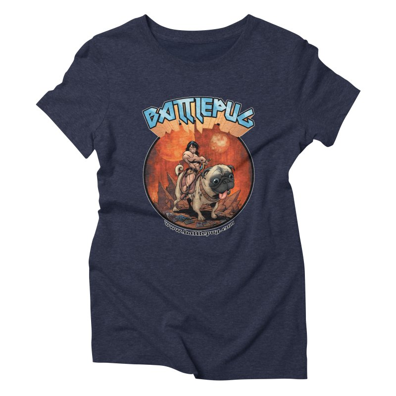 Battlepug OG tee Women's Triblend T-Shirt by THE BATTLEPUG STORE!