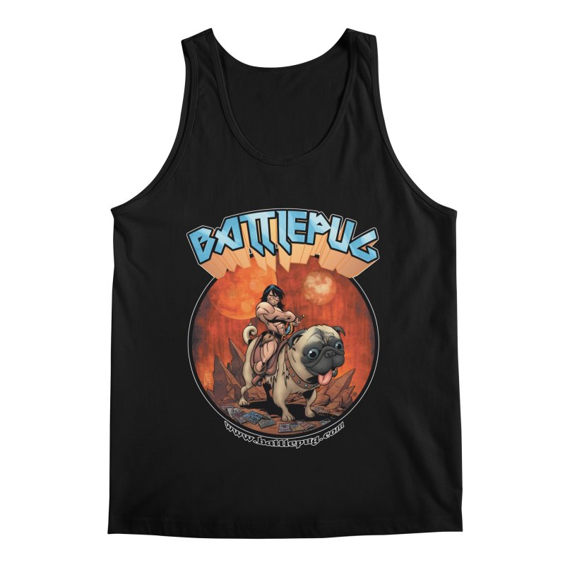 Battlepug OG tee Men's Regular Tank by THE BATTLEPUG STORE!