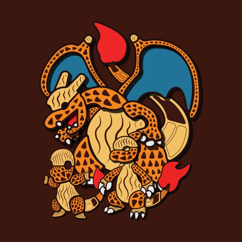 Charmander Family by Mikeys Illustration's Artist Shop