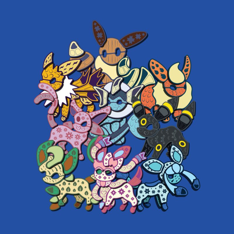 Eeveelutions Family by Mikeys Illustration's Artist Shop