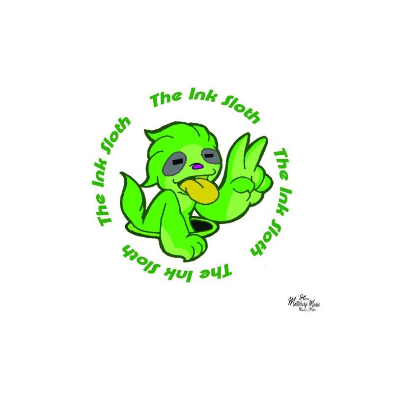 The Ink Sloth (Standard Logo) Men's T-Shirt by MillsburyMedia's Artist Shop