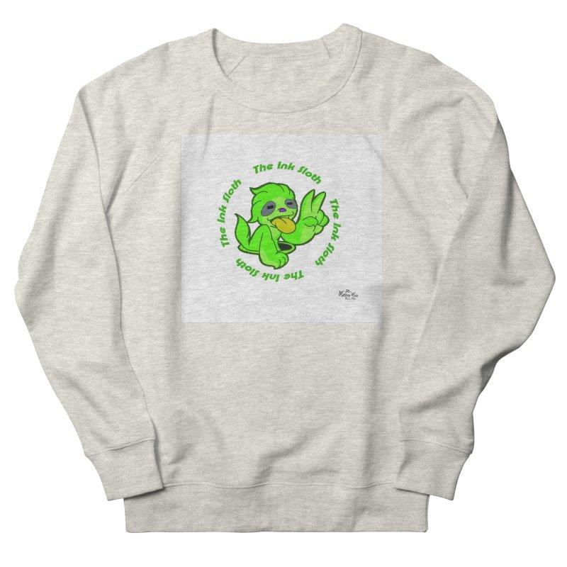 The Ink Sloth (Standard Logo) Men's French Terry Sweatshirt by MillsburyMedia's Artist Shop