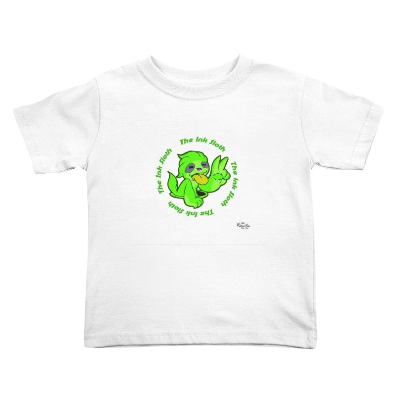 The Ink Sloth (Standard Logo) Kids Toddler T-Shirt by MillsburyMedia's Artist Shop