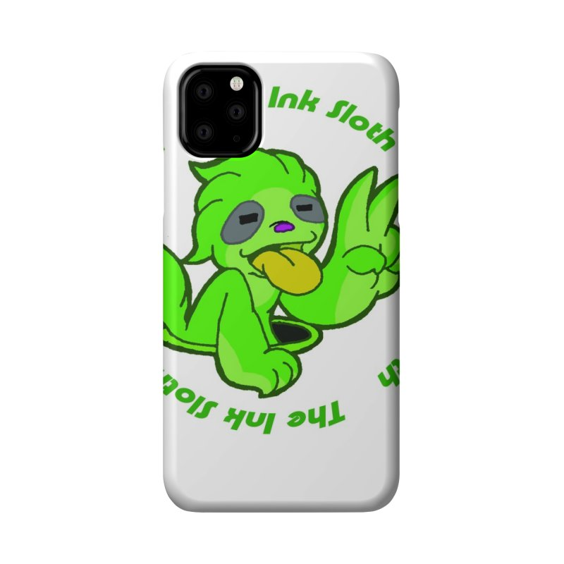 The Ink Sloth (Standard Logo) Accessories Phone Case by MillsburyMedia's Artist Shop