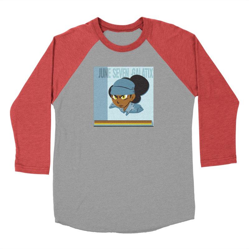 Gerald Of June Seven Women's Baseball Triblend Longsleeve T-Shirt by MillsburyMedia's Artist Shop