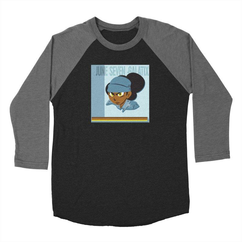 Gerald Of June Seven Men's Baseball Triblend Longsleeve T-Shirt by MillsburyMedia's Artist Shop