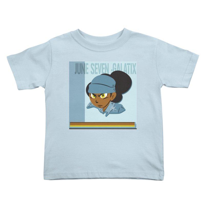 Gerald Of June Seven Kids Toddler T-Shirt by MillsburyMedia's Artist Shop