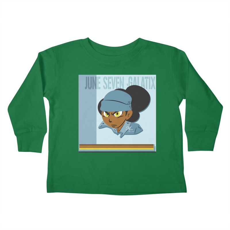 Gerald Of June Seven Kids Toddler Longsleeve T-Shirt by MillsburyMedia's Artist Shop