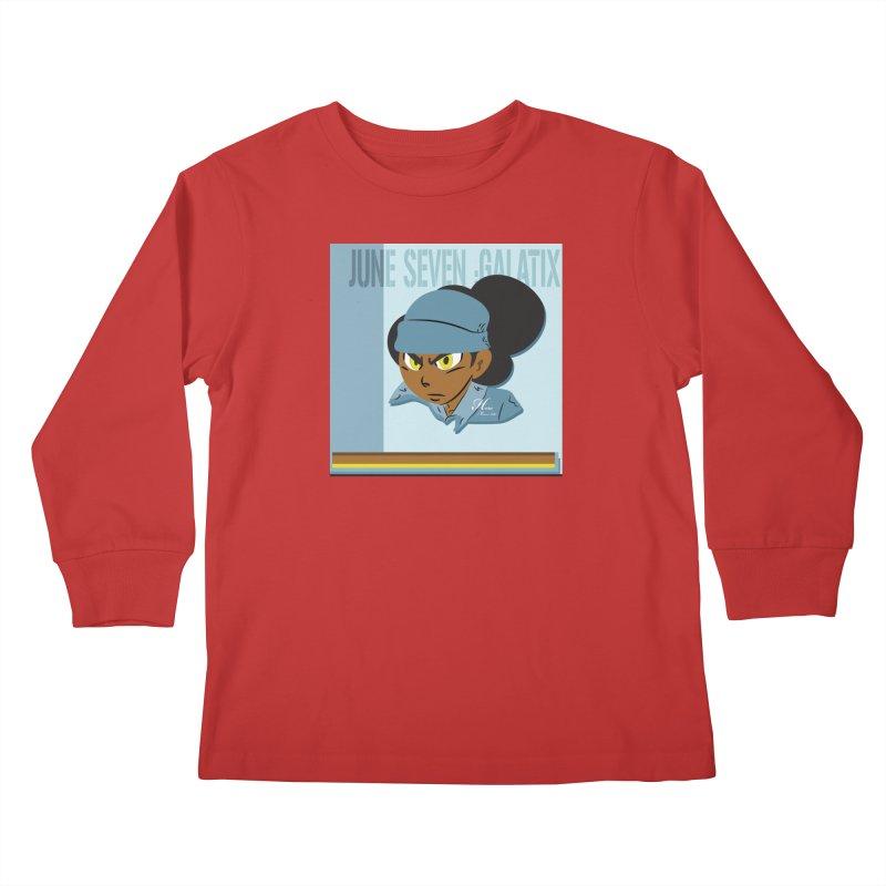 Gerald Of June Seven Kids Longsleeve T-Shirt by MillsburyMedia's Artist Shop