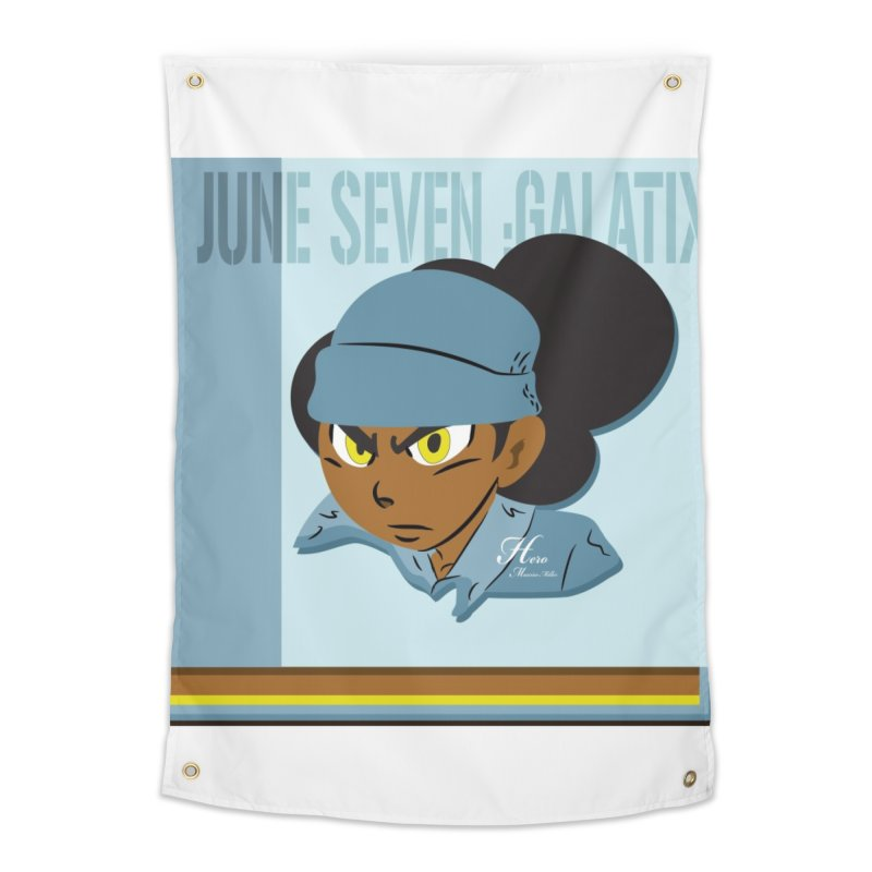 Gerald Of June Seven Home Tapestry by MillsburyMedia's Artist Shop