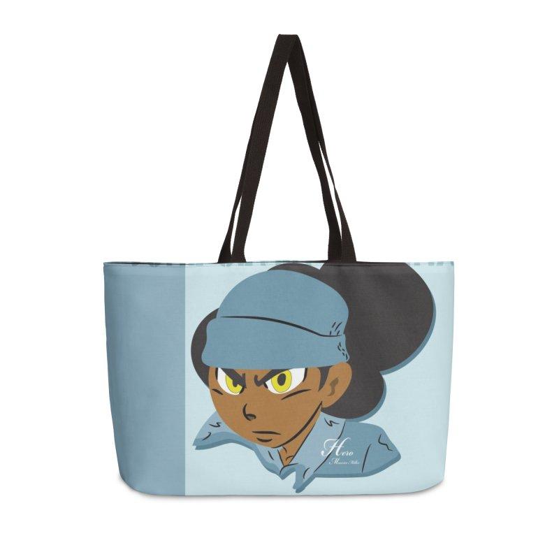 Gerald Of June Seven Accessories Weekender Bag Bag by MillsburyMedia's Artist Shop