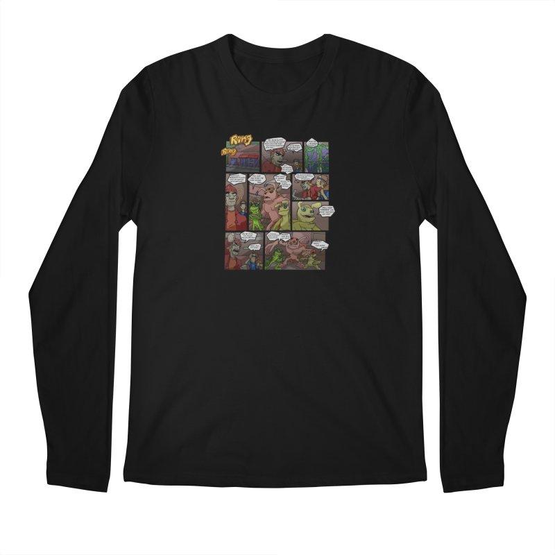 Atomic Slug First Page Men's Regular Longsleeve T-Shirt by MillsburyMedia's Artist Shop