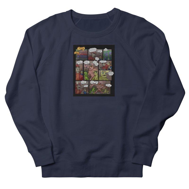 Atomic Slug First Page Men's French Terry Sweatshirt by MillsburyMedia's Artist Shop