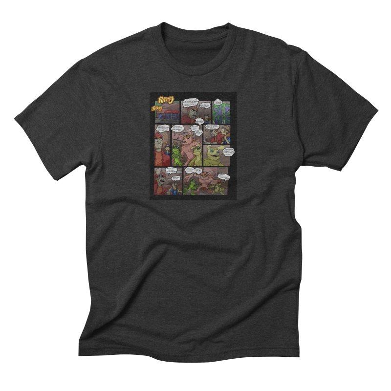 Atomic Slug First Page Men's Triblend T-Shirt by MillsburyMedia's Artist Shop