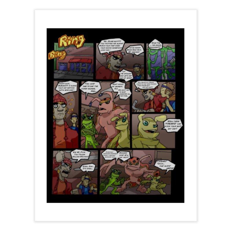 Atomic Slug First Page Home Fine Art Print by MillsburyMedia's Artist Shop