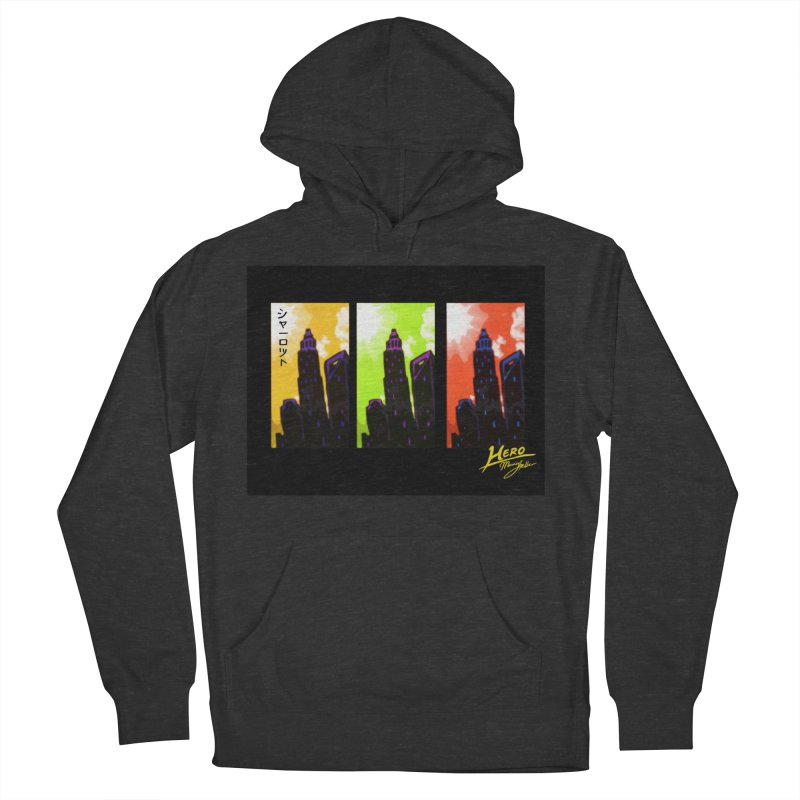 CLT Charlotte City Women's French Terry Pullover Hoody by MillsburyMedia's Artist Shop