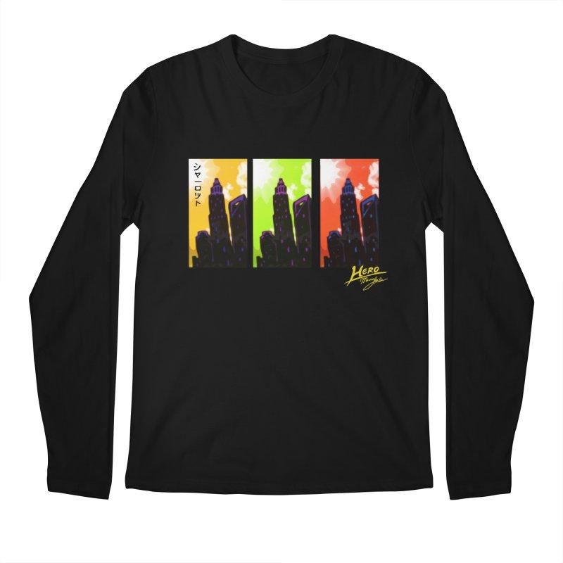 CLT Charlotte City Men's Regular Longsleeve T-Shirt by MillsburyMedia's Artist Shop