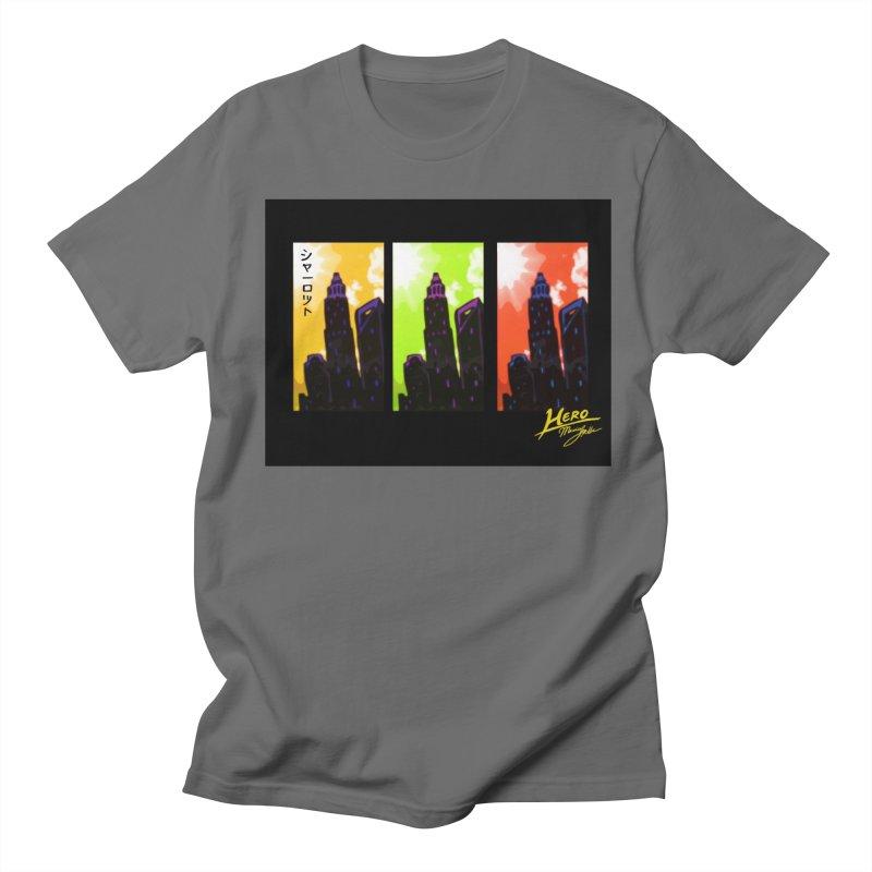 CLT Charlotte City Men's T-Shirt by MillsburyMedia's Artist Shop
