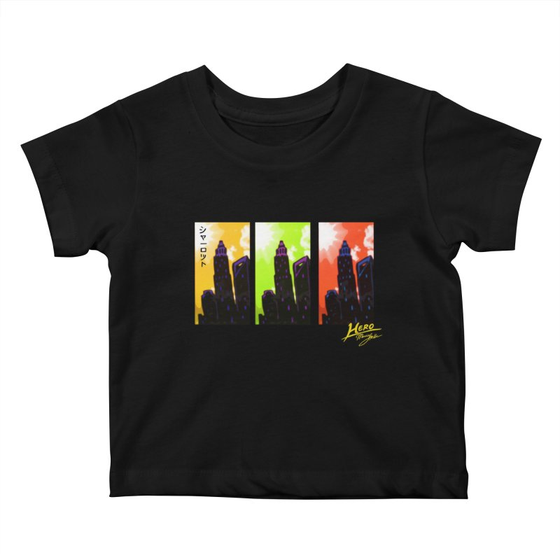 CLT Charlotte City Kids Baby T-Shirt by MillsburyMedia's Artist Shop